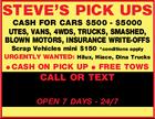 STEVE'S PICK UPS
