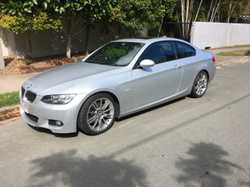 2008 323i E92 coupe. 6cyl auto. New tyres, new breaks, RWC upgraded sound system- VGC  109,000km