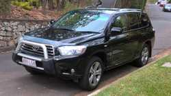 Black, RWC, 135,000km, one owner, full service history, good condition. $13,900