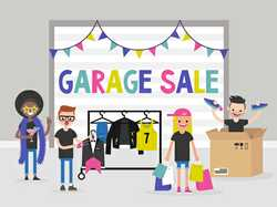 Garage Sale BELLARA 104 Boronia Drive, Saturday only from 7-11am.