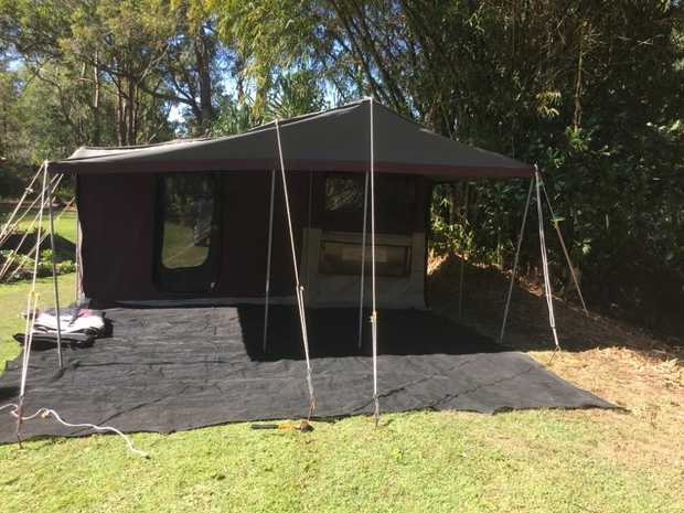 On Road Camper Trailer