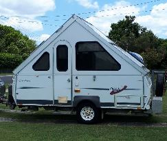 <p> AVAN CRUISER 2006 5M Long x 2M Wide. Folds in 3mins to Trailer size, easy tow- easy park. 2...
