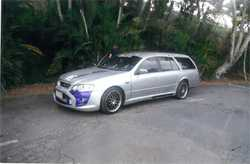 FORD Falcon wagon BA gas, 2005, 214,881kms, GT lookalike/interior, 4 new tyres, RWC, gas cert&rsq...