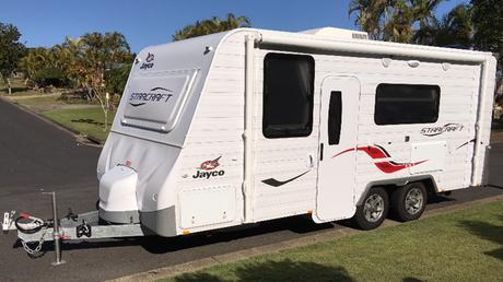 <p> Description:<br /> 2016 Jayco Starcraft full height caravan (18.5 foot) with tandem axle, full...</p>
