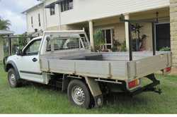 RODEO 08 MODEL Sngle cab ute, 140,000 kms, CB radio, new tyres, 6 mths rego, A/C, runs & look...
