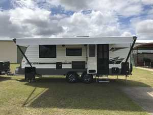 This beautiful caravan has been used only twice since delivery August 217. Tare 2340, ATM 2840, Ball...