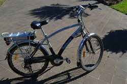 "Electric pedal assist, 26"", VGC"