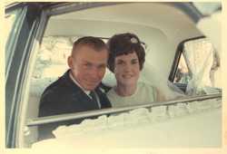SCHMIDT - RIPON Jeffrey & Lynnette were married 11th January 1969 St Matthews Lutheran Church Marybo...