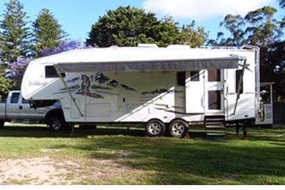 30ft 5th WHEELER Caravan