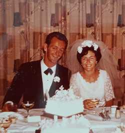 HAPPY ANNIVERSARYHappy 50th Wedding Anniversary Des + Gail ChapmanLots of Love Marion, Kellie,...