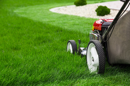 AFFORDABLE TOTAL YARD MAINTENANCE • No job too big. Or too small! • Lawns mowed, big...