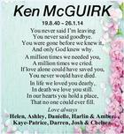 Ken McGUIRK