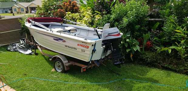 Boat & Motor Trailer Package   STACER 449 NOMAD ELITE    Motor Mariner 40HP 2 stroke....