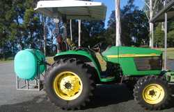 JOHN DEERE 44HP 4WD Tractor,