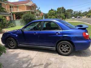 <p>Subaru Impreza RS 2003 , blue sedan, 314,000kms $2000 ONO ph 0477299743 BJ95ES</p><p><br></p>