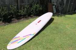 "Bombora ""Fun Freestyle"" Windsurfer with two sails."