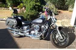 2004 Yamaha V Star 1100,  immaculate,  low kms,  fully equipped for touring, ...