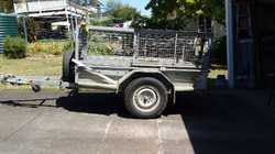Good condition Complete with canopy No rust Rego