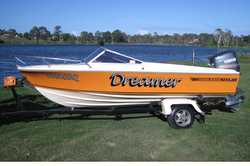 16R Haynes Hunter Immaculate condition!!! 150 HP Yamaha Very low kms First to see will buy $14,00...