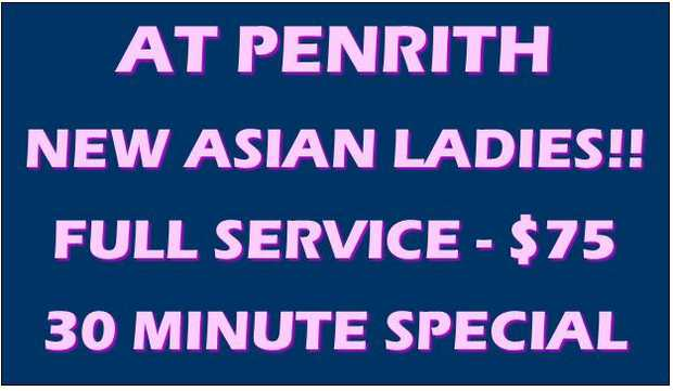 AT PENRITH ~ Lots of New Asian Ladies. 