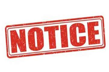NOTICE OF INTENDED APPLICATION FOR LETTERS OF ADMINISTRATION    In the Supreme Court of the N...