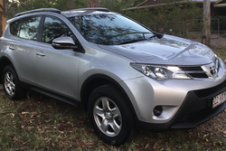 Toyota RAV 2WD 2014. 104K one lady owner, no crashes. Great condition. 6 speed manual. Must sell. $1...
