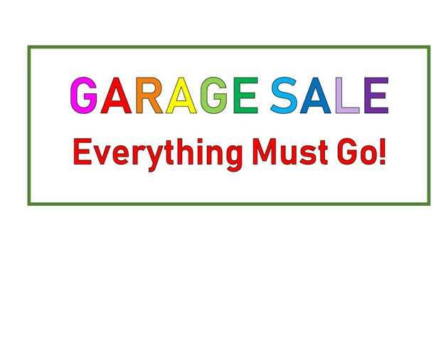 HUGE GARAGE SALE   Saturday & Sunday   8am to 6pm    Brand new kitchenwa...