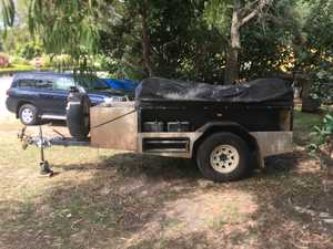Much loved Lifestyle off road camper trailer. 9 ft tent, pull out kitchen with electric tap. Twin...