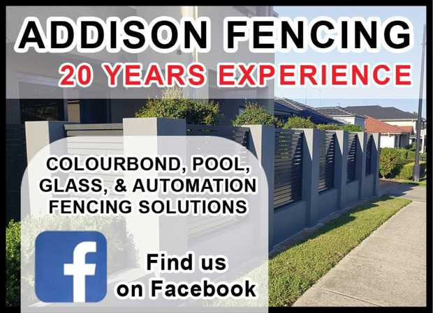 ADDISON FENCING   With over 20 Years Experience   Give us a call today!     ...