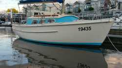 23ft Huon Pine motor sailer.   Isuzu 3cyl engine. Launched 1996.   Exc cond with all safe...