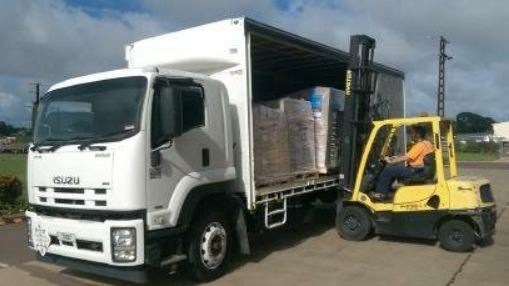 12 pallet curtain sider   15000kg GVM   Very low kms   AMT, tail gate loader ...