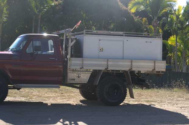 F100 1980 4X4 351    Reg, long range tanks, + water tank   Taken back to bare metal. body...