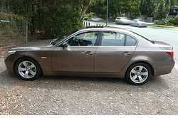 BMW 530i 2004 Sedan, bronze, 132,000km, 2 new tyres, accident free, beautiful to drive, $7950. Ph...
