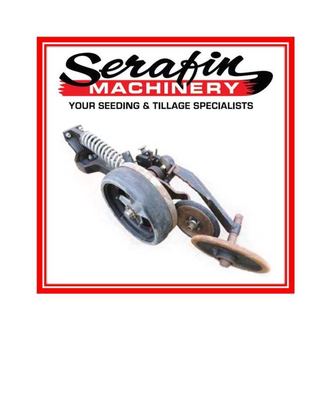SERAFIN MACHINERY   YOUR SEEDING & TILLAGE SPECIALISTS      BALDAN SB2010 S...