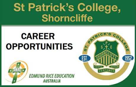 <p> St Patrick's College, Shorncliffe<br />  </p> <p> St Patrick's College...</p>