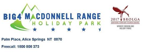 BIG4 MacDonnell Range Holiday Park are seeking a Housekeeping Manager for immediate start.   ...