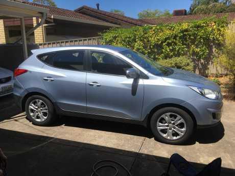 <p> Grey 4 door hatch, 34,000kms, very good condition. </p> <p> Rego S466ASG Price...</p>
