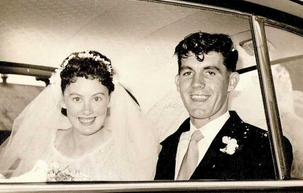 Ron and Wendy YOUNG   Celebrate their 60th Diamond Wedding Anniversary today   They were...
