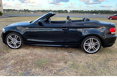 2008 BMW 120i Classy black, auto convertible, low 102,000 kms, rego 4/19, $12,500. Phone...