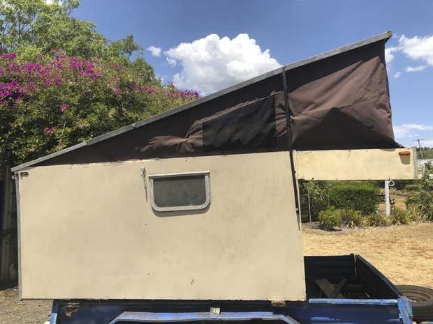 Canopy - pop up canvas top - sleeps 2 - fits in back of Ute. Insulated.  Approx 6x7ft - ideal weekend...