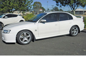 Holden VZ Commodore Sedan SV6 In Excellent Cond Low Klms.