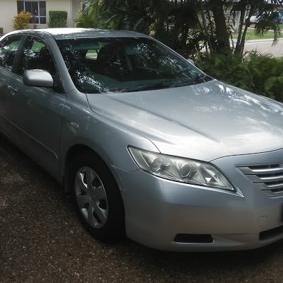 Camry Altise 2008Silver, Auto, Cruise. A/C, C/Lock, New Tyres Reg 08/19 124500km $6500 ono Flood Free...