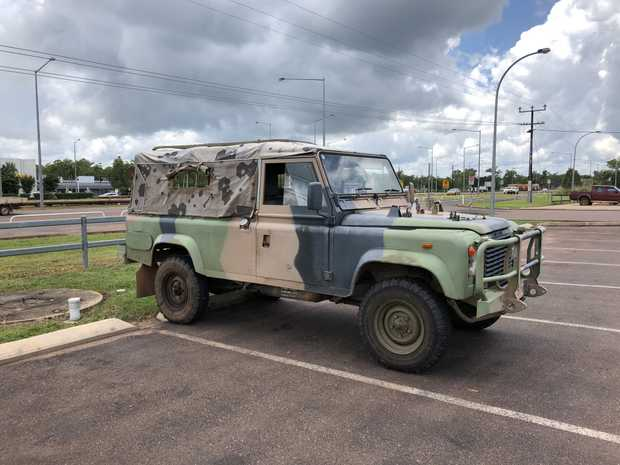 Land Rover 110 Troopie