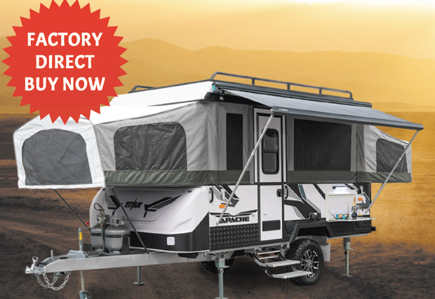 MY19 APACHE CAMPER From$36,990 *T&Cs Apply    FACTORY DIRECT BUY...