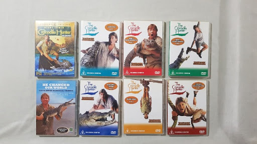 all movies of the crocodile hunter, most never watched so as new