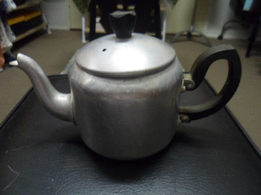 Small Size Vintage Invincible Brand Aluminium Teapot. 