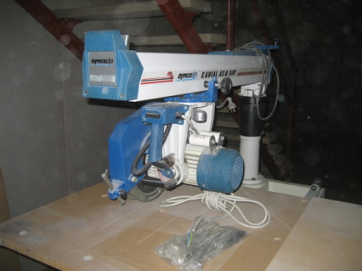Omga RN 600 Radial Arm Saw.Single phase motor .Brand New $2990.00  .0413 156 737  Sumner Park