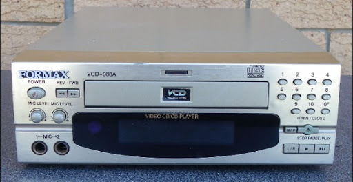 FORMAX VCD-988A Video CD/CD Karaoke Player