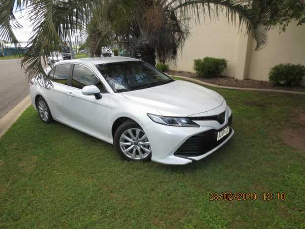 2.5L Auto, Tint Windows, Pearl White,   Full Toyota Warranty, R.W.C, 4000kms Only,   Mint...