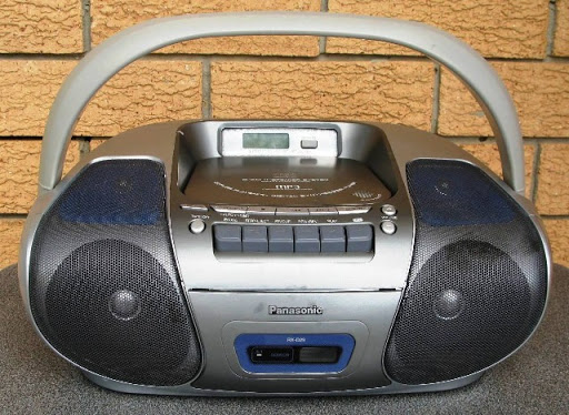 Pansonic RX-D29 boombox is the perfect solution for taking your tunes on the road.  It features a pair...
